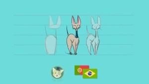 Desenha Animais Majestosos, Como Desenhar Gatos em Udemy por Don Corgi