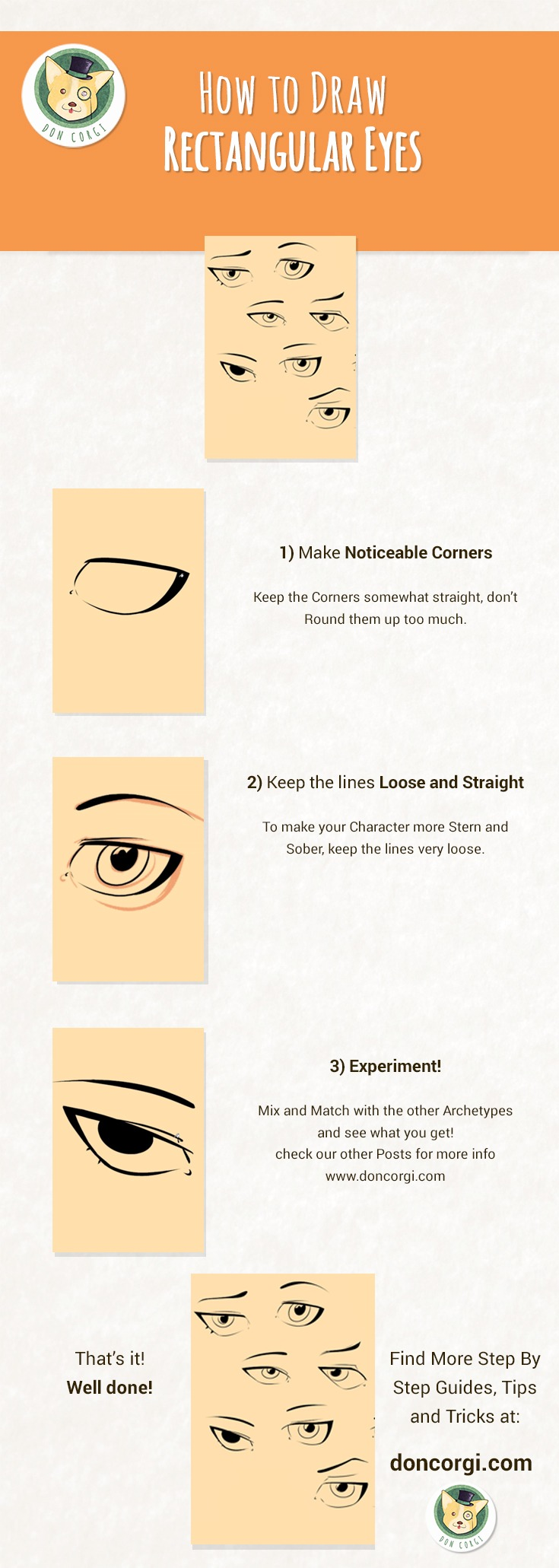 How to Draw Eyes - Smokey Sexy Eyes by Don Corgi