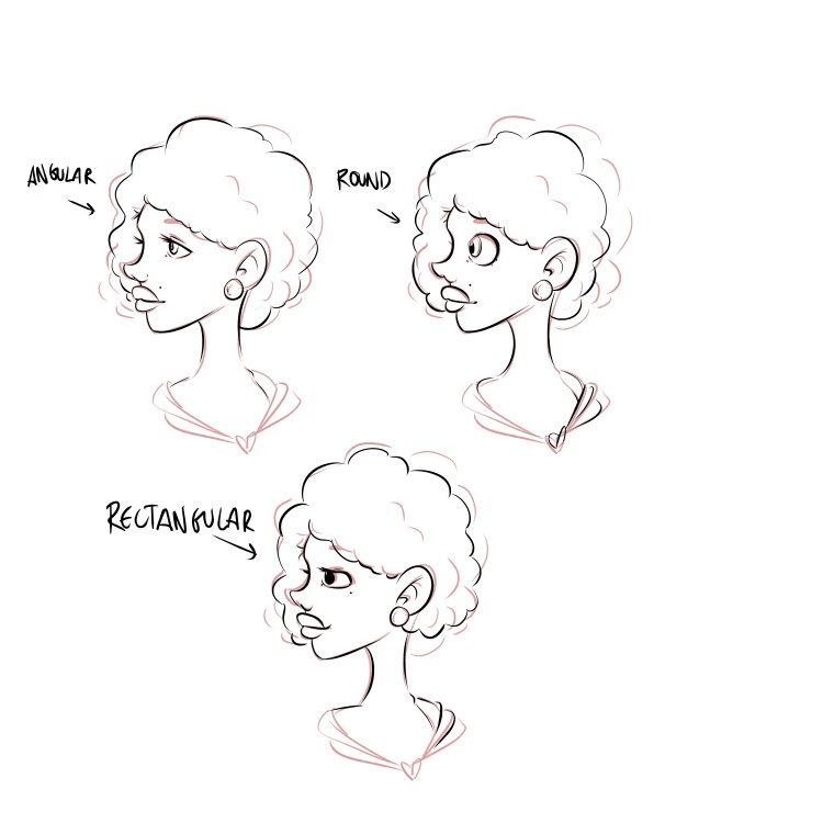 How to Draw Eyes - Face Proportion Side Look by Don Corgi