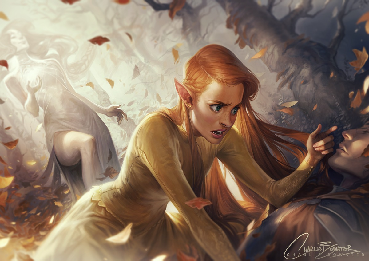 Equinox by by Charlie Bowater on Deviantart, Inspirational Artist - Don Corgi