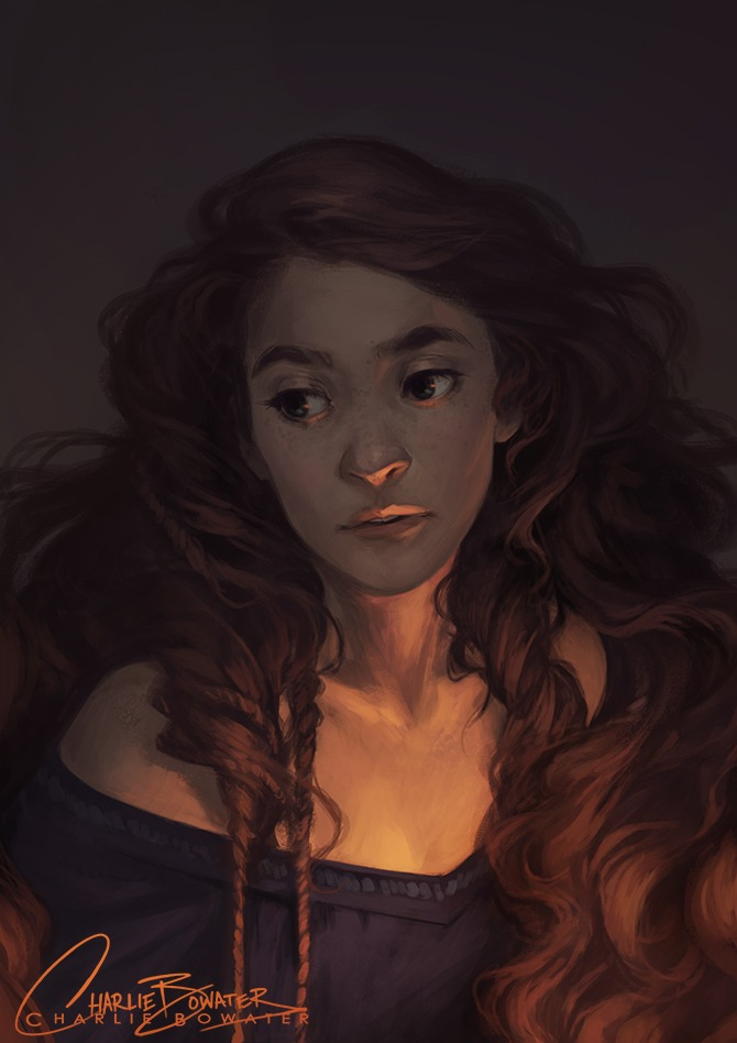 Hex by Charlie Bowater on Deviantart, Inspirational Artist - Don Corgi