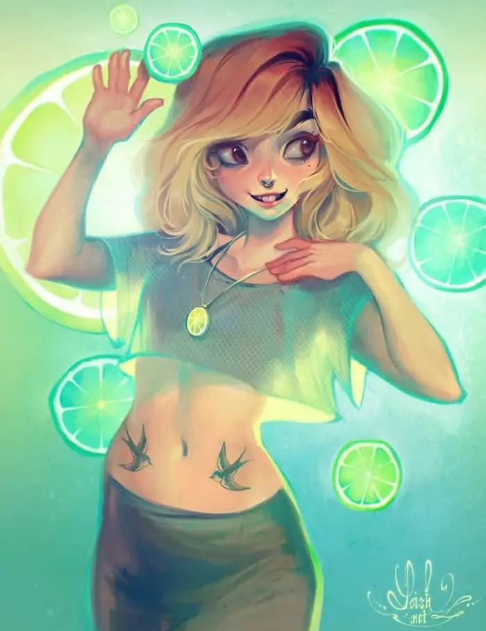 Lemonade by Loish, Inspirational Artist