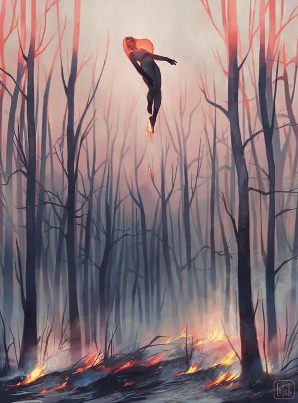 Smoulder by Loish, Inspirational Artist