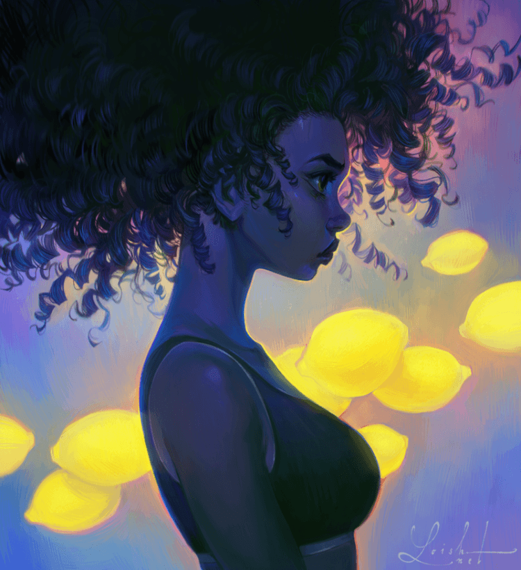 Sour by Loish, Inspirational Artist