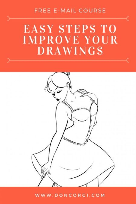 Steps to Improve your Drawings: Free 7-Day Email Course