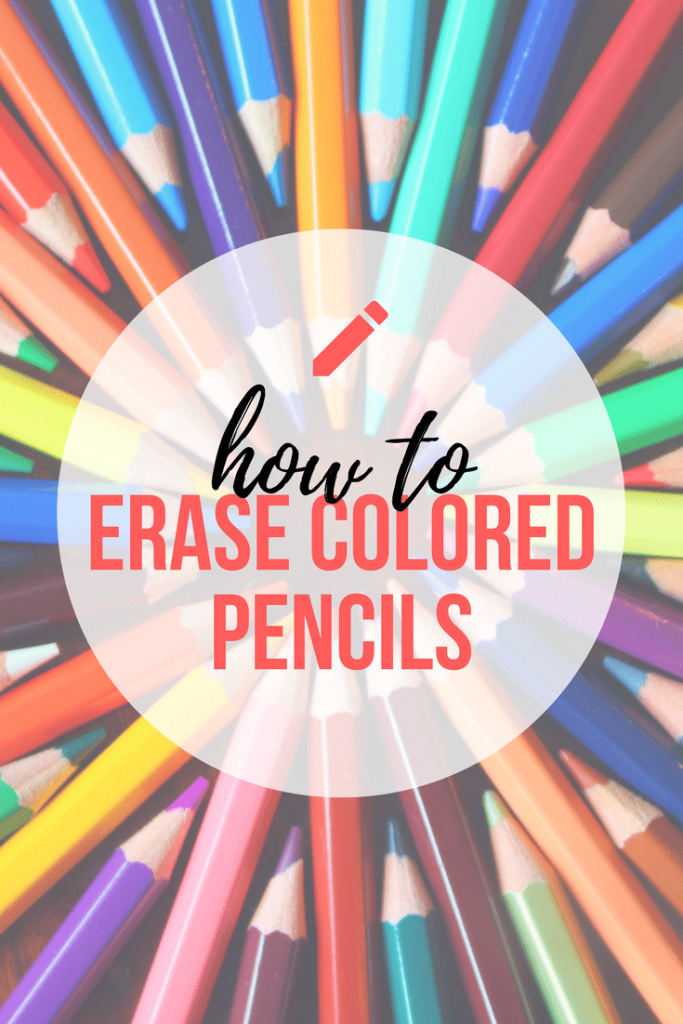 Learn Techniques and Tools to Help you Erase Colored Pencils Step by Step, easy and quick.
