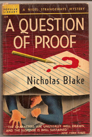 Image result for a question of proof