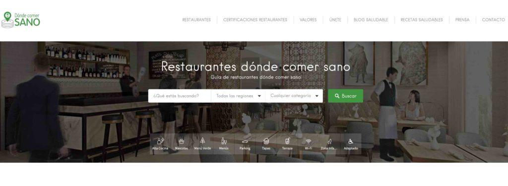 restaurantes Donde comer Sano
