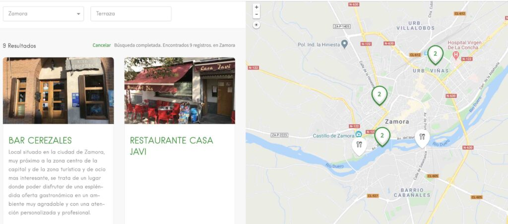 Las mejores Zamora ciudad terrazas