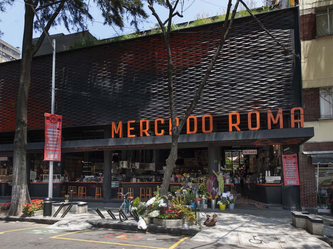 5 mercados gourmet de la CDMX Mercado Roma Miln 44 y