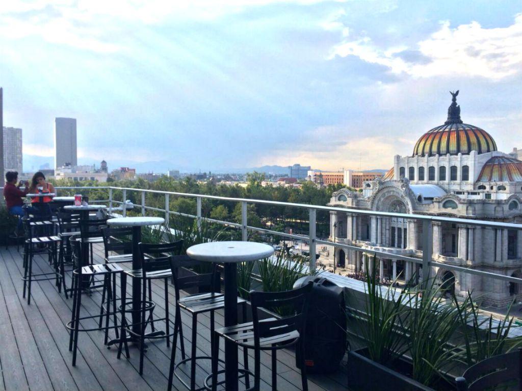 caf de la gran ciudad en la torre latinoamericana d nde