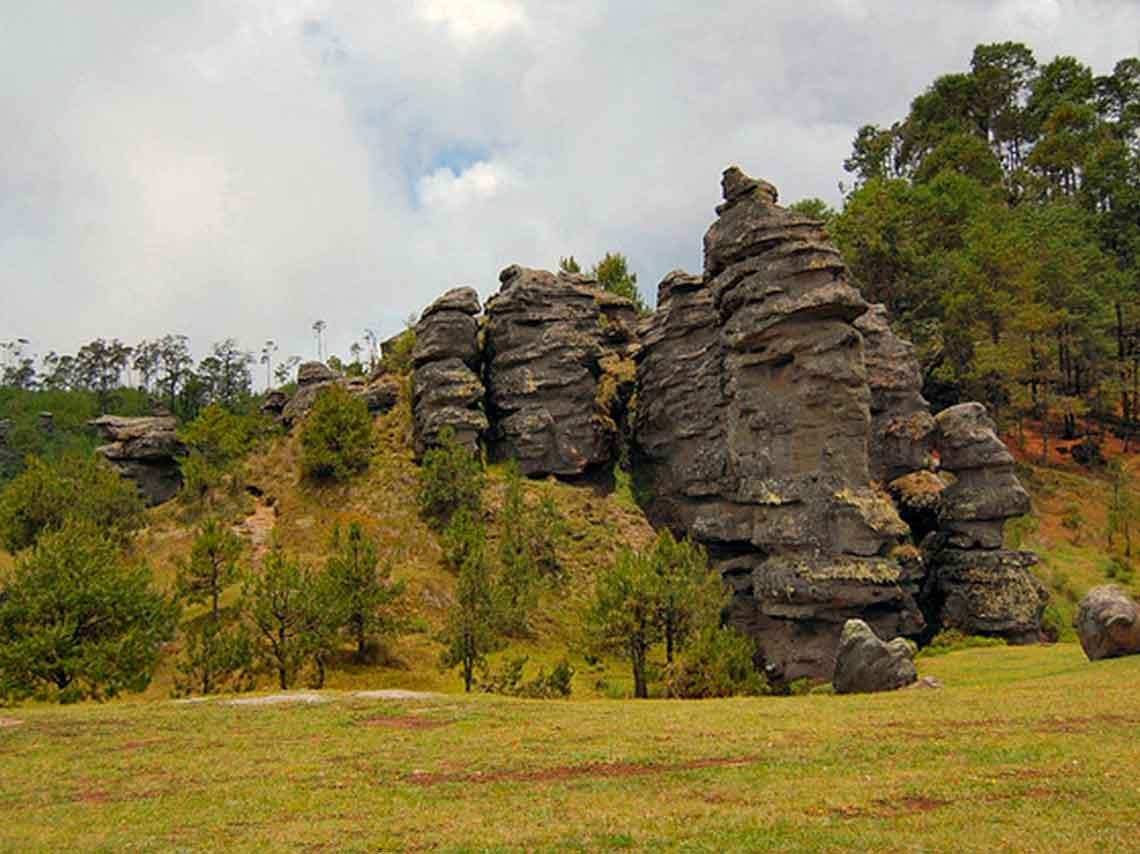 Piedras Encimadas, un área natural protegida localizada muy cerca de Zacatlán, Puebla