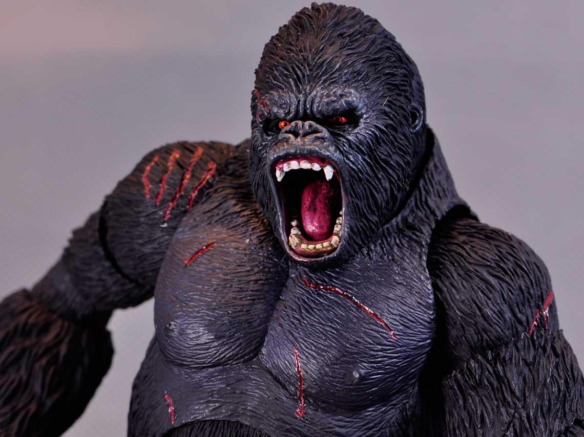 King Kong en el Museo del juguete antiguo