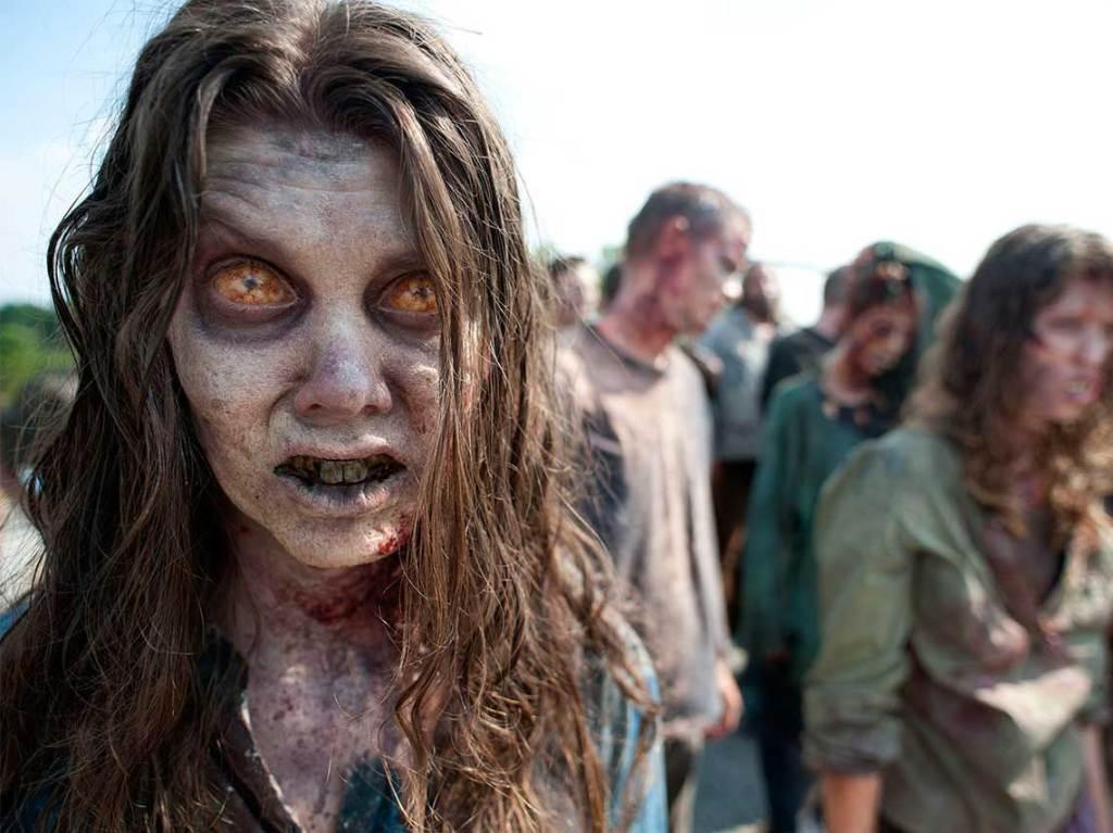Campamento zombie en el Ajusco