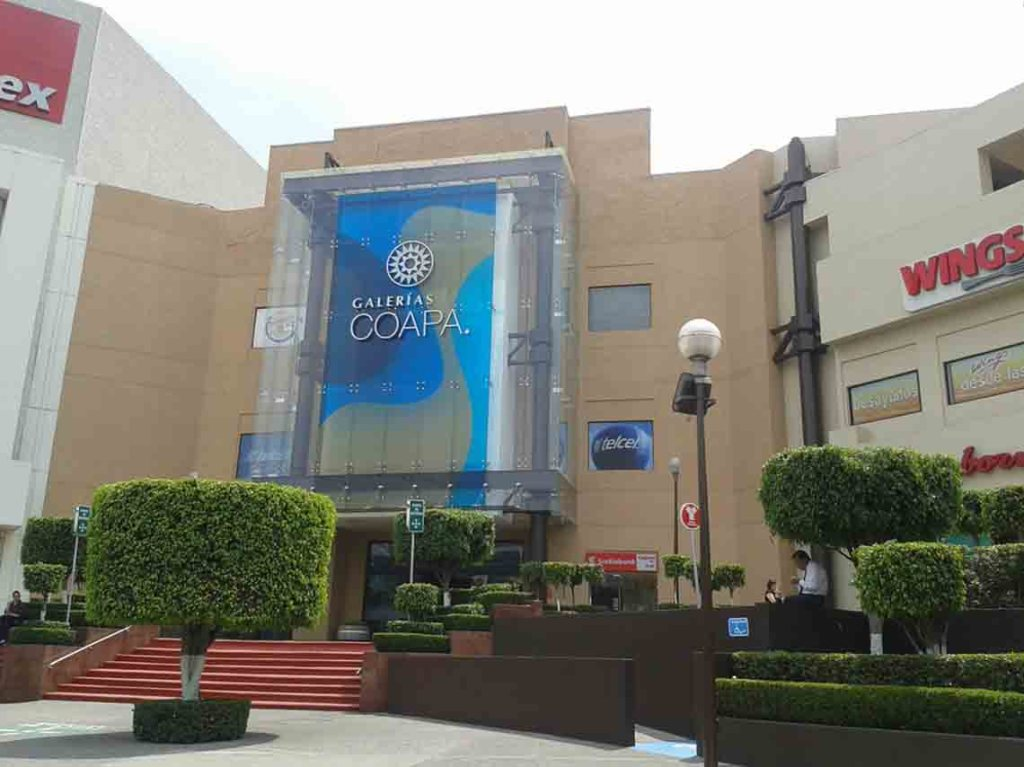 Centros comerciales cerrados por el sismo