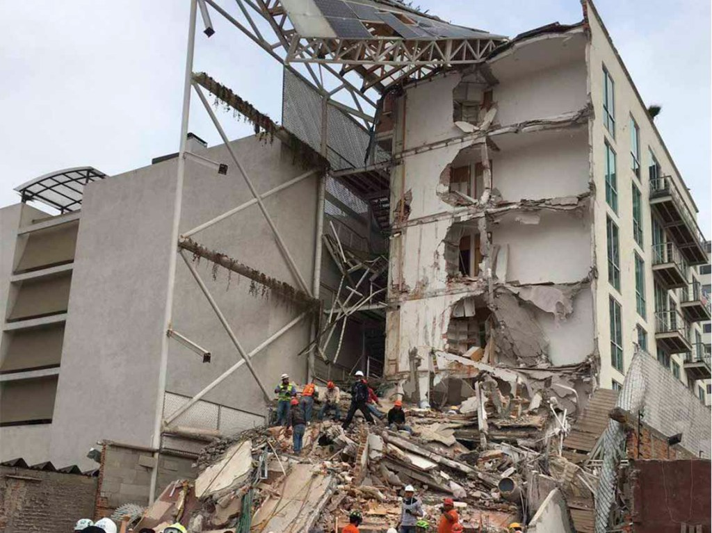 Zonas Más Afectadas por el sismo