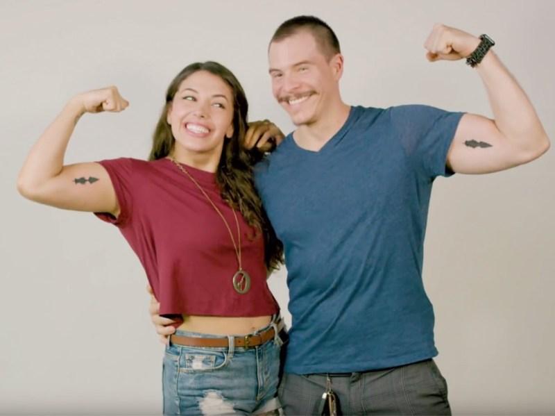soundwave tattoo tatuajes con sonido en CDMX para parejas