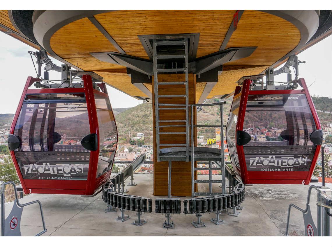 Telefrico de Zacatecas renovado disfruta la ciudad desde
