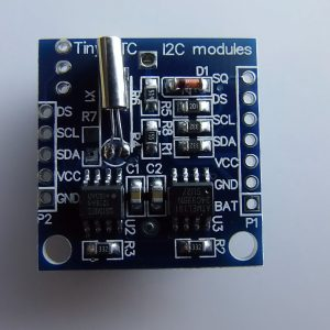 Arduino Real Time Clock Modulo I2C RTC DS1307 AT24C32 Real Time Clock Modulo For AVR ARM PIC SMD + Batteria