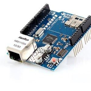 W5100 Shield ethernet LAN conSlot SD per ARDUINO UNO Mega 1280 2560