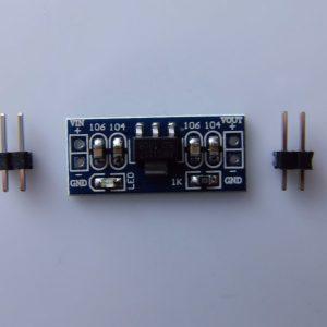 Modulo di Alimentazione 5.0V AMS1117-5.0V fixed regulated output-