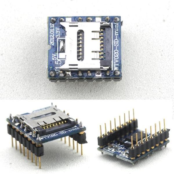 WTV020-SD Voce Modulo, Scheda SD Voce Modulo, consoles Voce Modulo