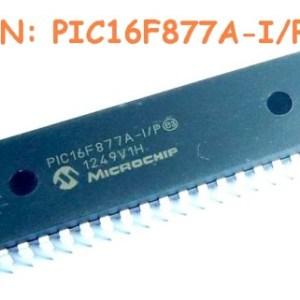 PIC16F877A-I/P IC Circuiti Integrati