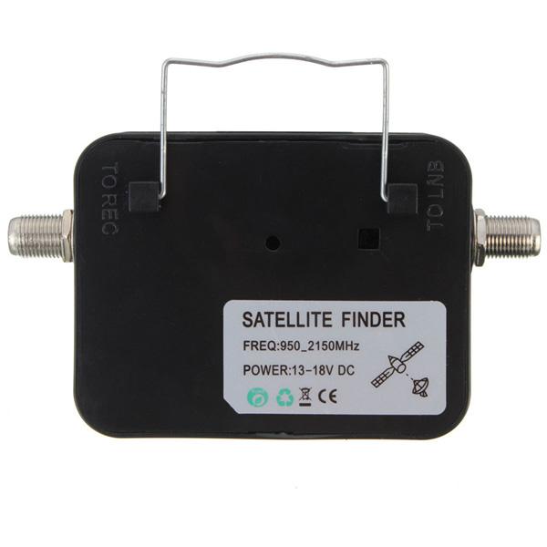 Mini satellite finder Misuratore di Segnale Analogico per Direct TV SAT Orientamento Parabola