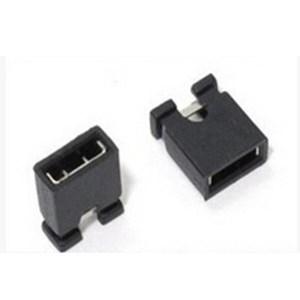 100 Pezzi 2.54 single row pin jumper cap, short circuit blocks, connecting blocks,
