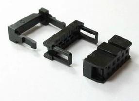 4 Pezzi 10 Position 2.54MM Pitch Femmina IDC Socket Flat Ribbon Cavo Connettore FC-10P