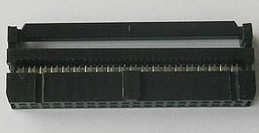 2 Pezzi 40 Position 2.54MM Pitch Femmina IDC Socket Flat Ribbon Cavo Connettore FC-40P