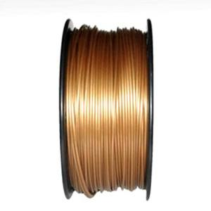 PLA 1.75mm 1KG 3D printer consumables gold HIGH QUALITY GUARANTEED ON MAKERBOT, MULTIMAKER, ULTIMAKER, REPRAP, PRUSA