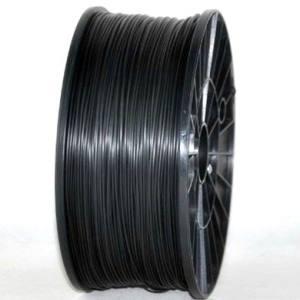 PLA 1.75mm 1KG 3D printer consumables black HIGH QUALITY GARANTITA SU MAKERBOT, MULTIMAKER, ULTIMAKER, REPRAP, PRUSA