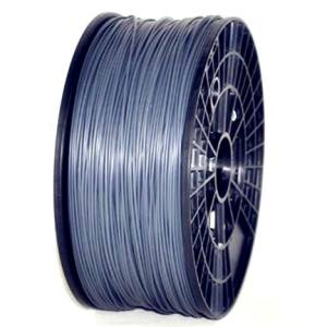 PLA 3.00mm 1KG 3D printer consumables silver HIGH QUALITY GARANTITA SU MAKERBOT, MULTIMAKER, ULTIMAKER, REPRAP, PRUSA