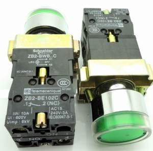 Green Sets - BW3365C sets -BW3465C bottone Pulsantebottone round con un lightPulsante