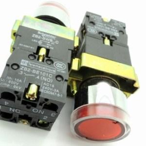 Red Sets - BW3365C sets -BW3465C bottone Pulsantebottone round con un lightPulsante