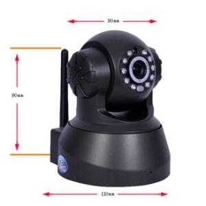 Wireless IP Network Camera TF card memory P2P WIFI