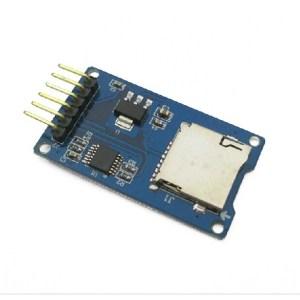 Arduino Micro Scheda SD mini TF card Lettore Modulo SPI Interfaccia level conversion core charged