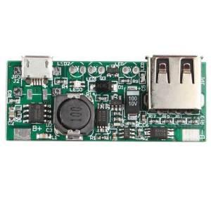 3.7V lithium Batteria booster Modulo DIY 5V 1A Output