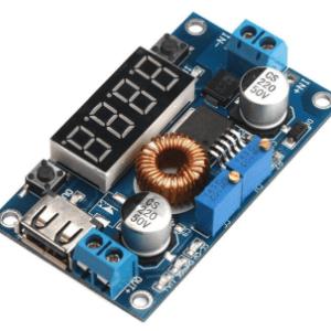 LM2596 DC Buck Volt Regolatore Convertitores Constant Voltaggio & Current 5-36V to 1.25-32V 5A 75W Step Down LED Driver Pulsante