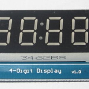 4 Bits Digitale Tube LED Modulo With Clock Display per Arduino