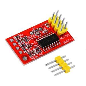 AD7705 Dual 16-bit ADC data acquisition Modulo SPI Interfaccia programmable input gain TM7705