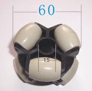 60MM Ruota