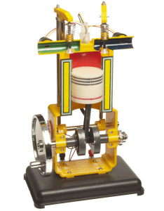 "American Educational Plastic Gasoline Engine Model, 13"" Length x 8"" Width"
