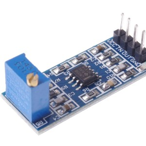 LM358 100-Time Signal Amplification Modulo