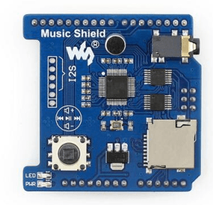 Angelelec DIY Open Sources Sensore, Music Shield, VS1053B Audio Play/Record