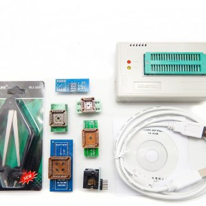 TL866CS USB Universal Programmatore EEPROM FLASH 9 Adattatores Extractor for 13000 Ics