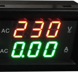 YB4835VA 500V 50A Split Dual LED Voltmetro Amperometro Digitale
