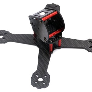 X4 RS(155) 3mm Quadcopter Carbon Fiber Frame Kit