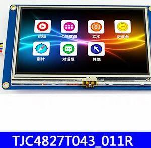 4.3-inch USART HMI Porta Serialee configuration control GPU host editing TFT LCD Schermo